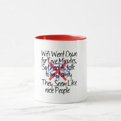 no wi-fi funny coffee mug design geek gift ideas