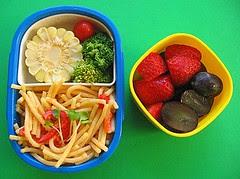 Tarako spaghetti lunch for toddler