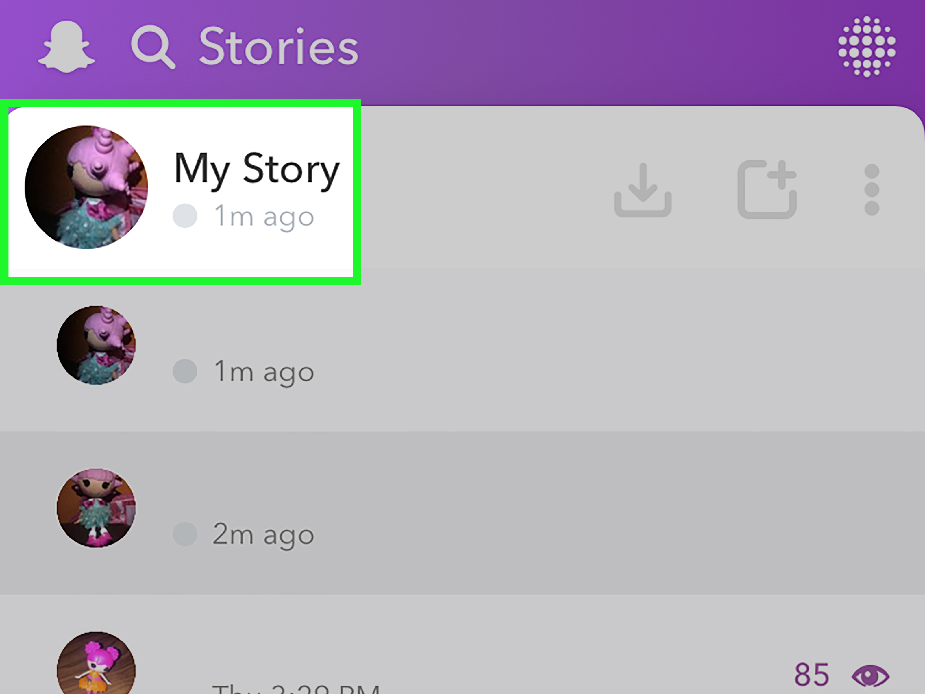 3 Ways to Send Multiple Snaps on Snapchat - wikiHow