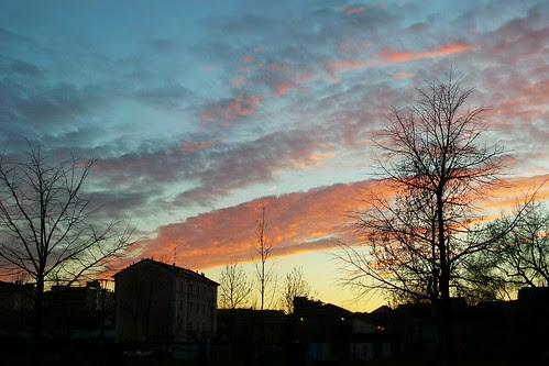 #Nuvole rosse di sera by Ylbert Durishti