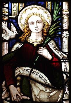 ST. COLUMBA Virgin Martyr in Cornwall