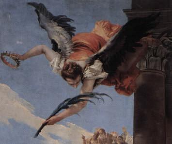 Martyrdom of St John Bishop of Bergamo by Giambattista Tiepolo