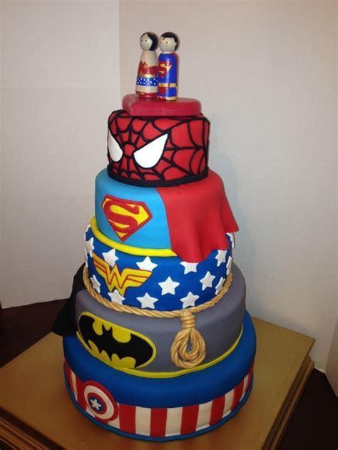 Super Hero Grooms Cake   CakeCentral.com