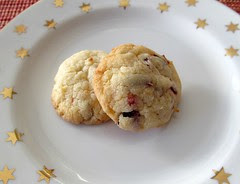 Coconut-Cranberry Chews