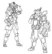 Apex Legends Coloring Pages   Coloringnori - Coloring ...