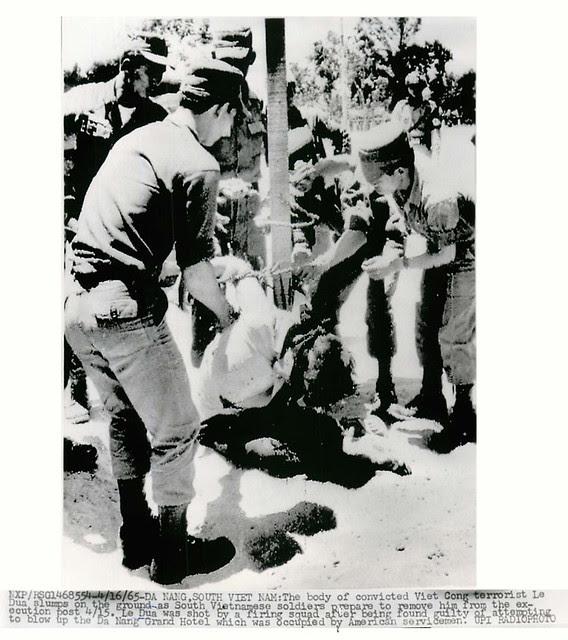 1965 Execution of Viet Cong Terrorist Le Dau