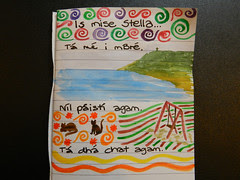 Watercolours and Irish