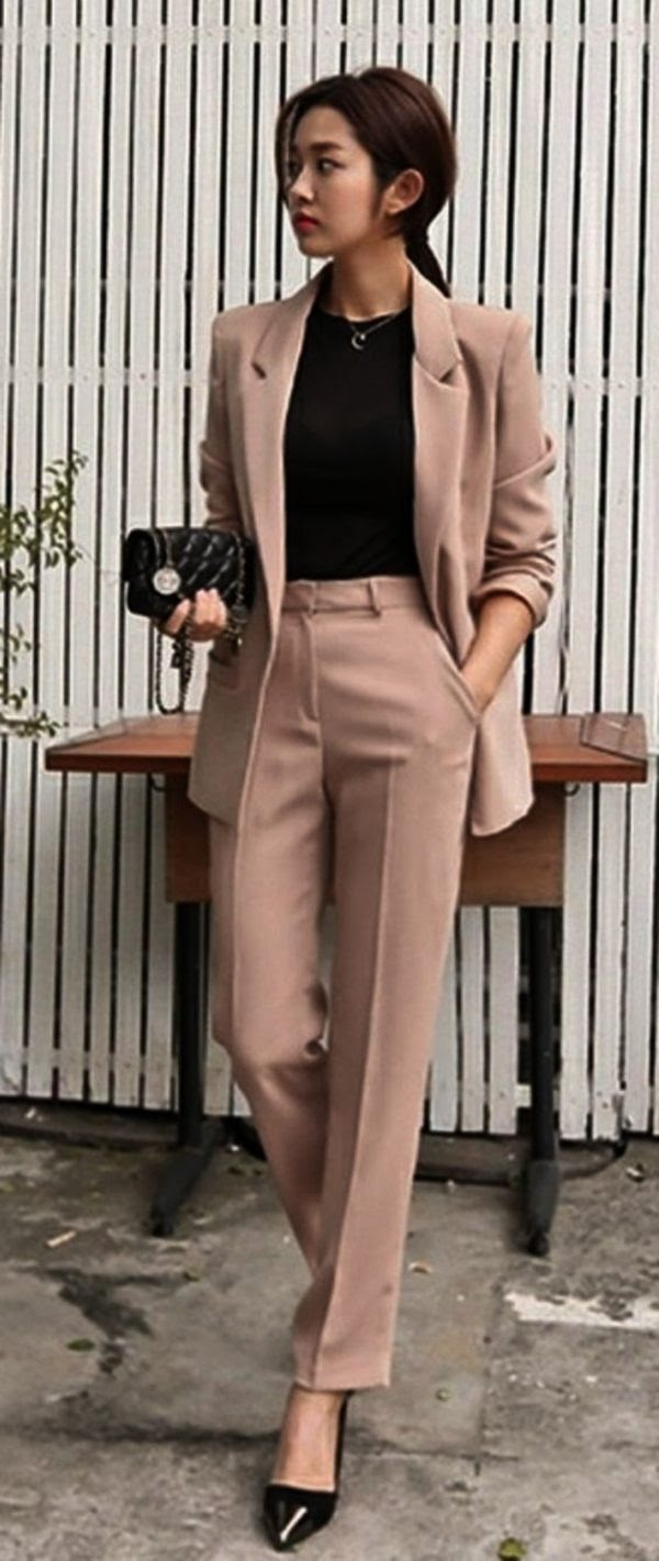 35trendy business casual work outfits for women  office salt