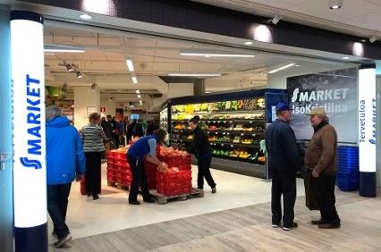 Supermarket Aukioloajat