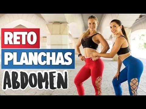 Rutina de 5 ejercicios en plancha para fortalecer tu abdomen