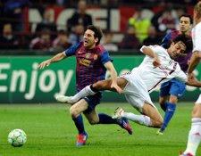 El Barcelona Y El Milan Empatan