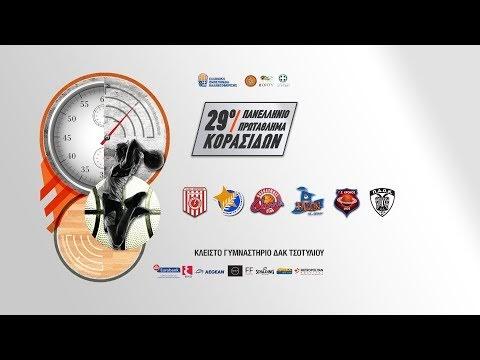 ΠΑΟΚ-Κεραυνός Αγίου Γεωργίου Γρεβενών για το 29ο Πανελλήνιο Κορασίδων, σε live streaming και live score box από το Τσοτύλι
