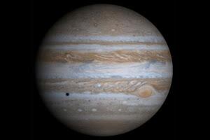 True-color image of Jupiter taken by NASA's Cassini spacecraft. Image Credit: NASA