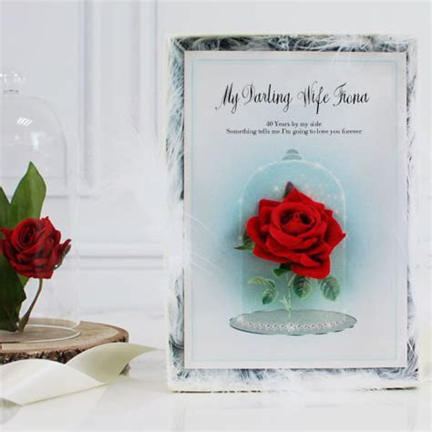 40th wedding anniversary gift ideas for wife husband parents