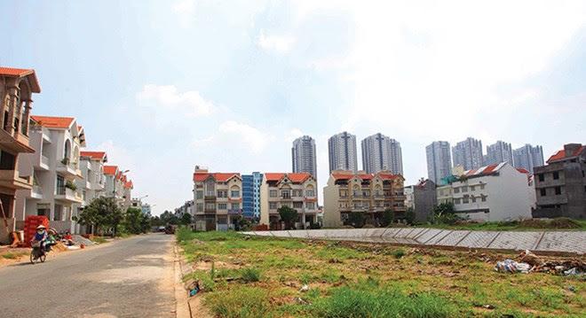 Nhà đầu tư thành phố đổ tiền vào đất nền vùng ven