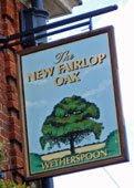 New Fairlop Oak, Fulwell Cross