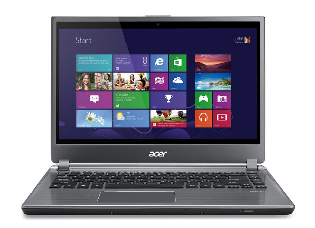 Acer Aspire V5 and M5 laptops will be available with touchscreens this month