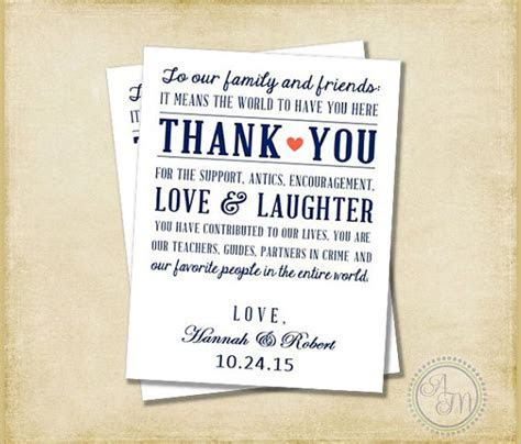 11  Sample Wedding Thank You Notes   PSD, Vector EPS, PDF