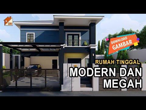Desain Rumah Industrial Modern 2 Lantai Desain Rumah Modern Minimalis Desain Rumah Idaman