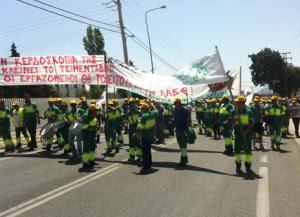 Eξέγερση τσιμεντάδων κατά Lafarge