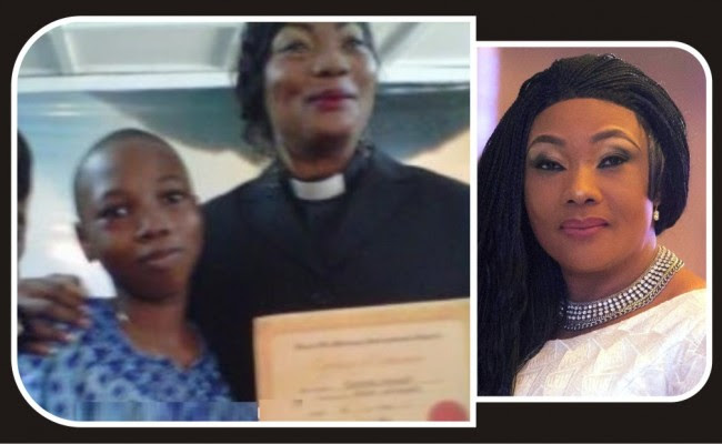 Image result for The 15-year old son of Nollywood actress and Evangelist, Eucharia Anunobi, Raymond Ekwu, has died.