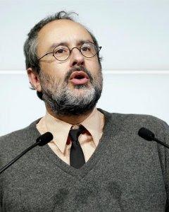 l cabeza de lista de la CUP a las elecciones catalanas del pasado 27 de septiembre, Antonio Baños, que ha anunciado hoy que deja su acta de diputado