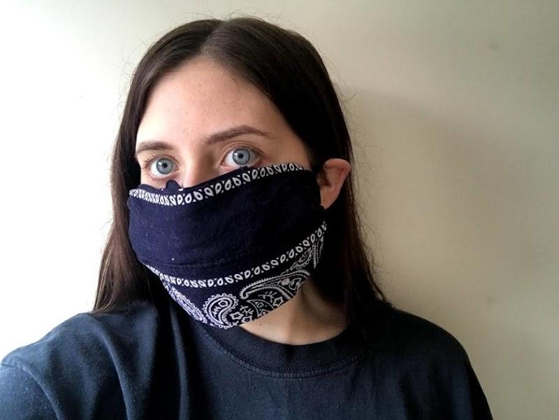 Face Mask Out Of Bandana