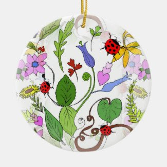 Floral Designed Ornament