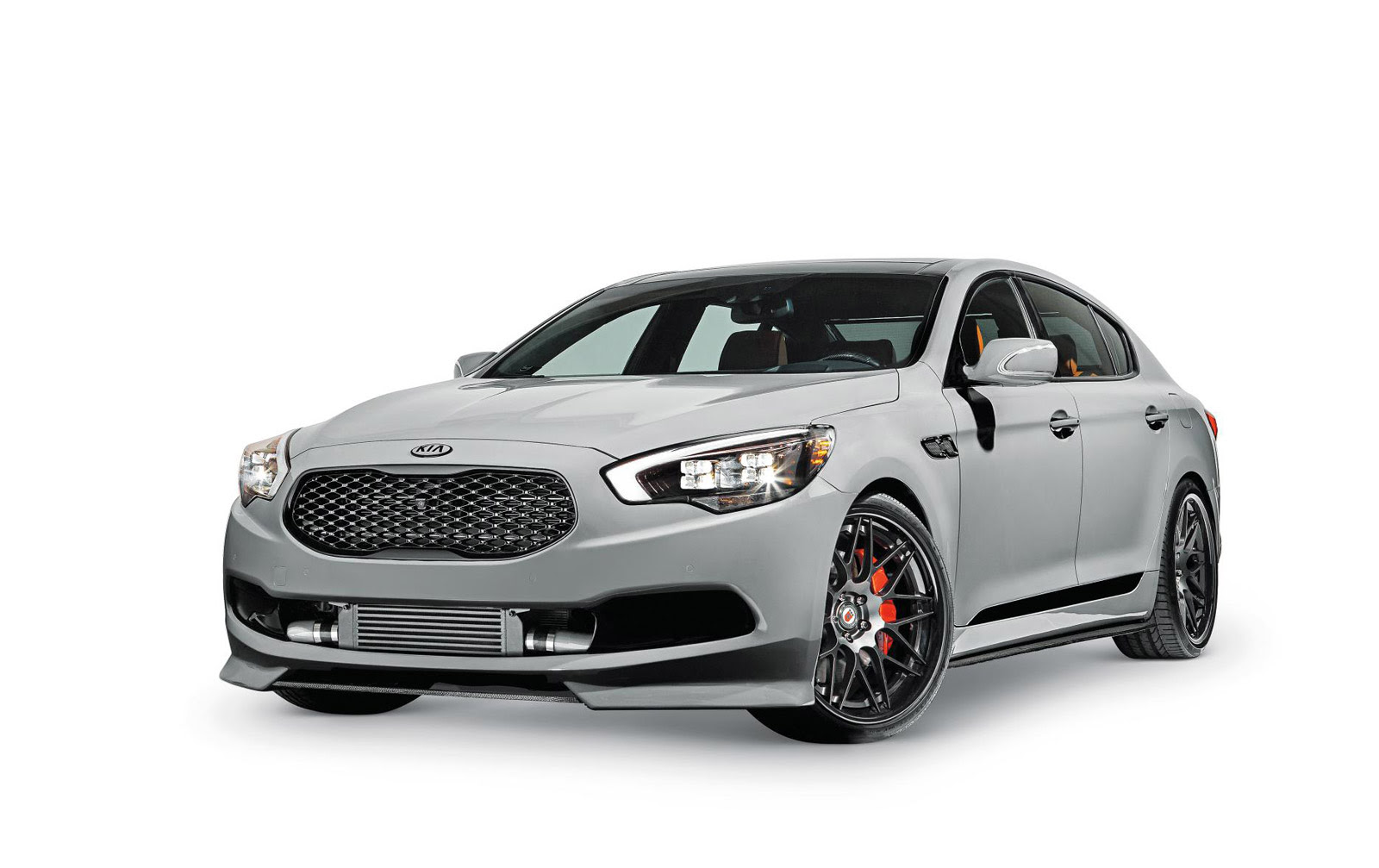 Kia Pumps Up The K900 For SEMA: Video