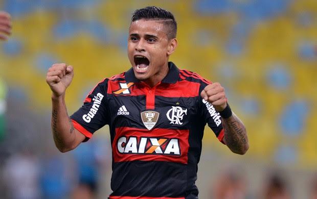 Flamengo x Coritiba - Everton (Foto: André Durão)