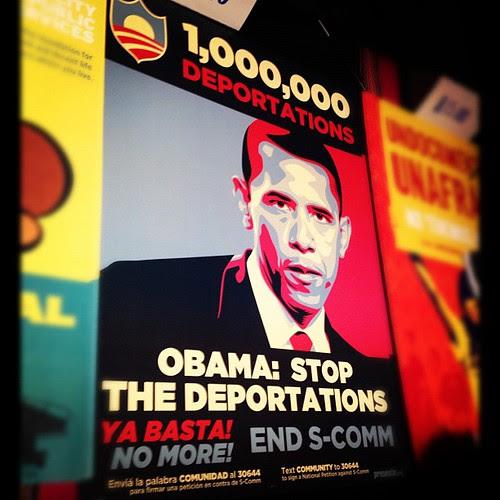 1million deportations must stop now #obama #lofi #ybca