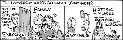 Home Spun comic strip #515
