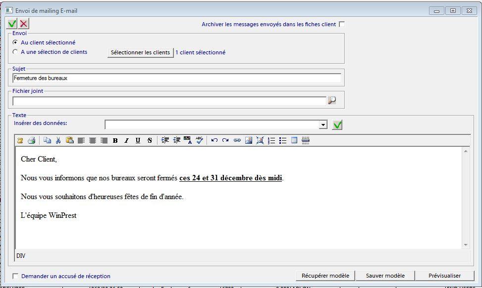 Exemple De Mail D Accusé De Reception - Le Meilleur Exemple