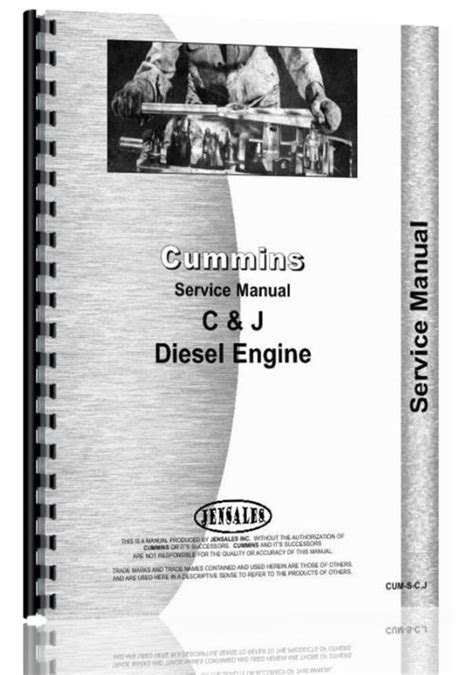 Hough H-60 Pay Loader Cummins Engine Service Manual