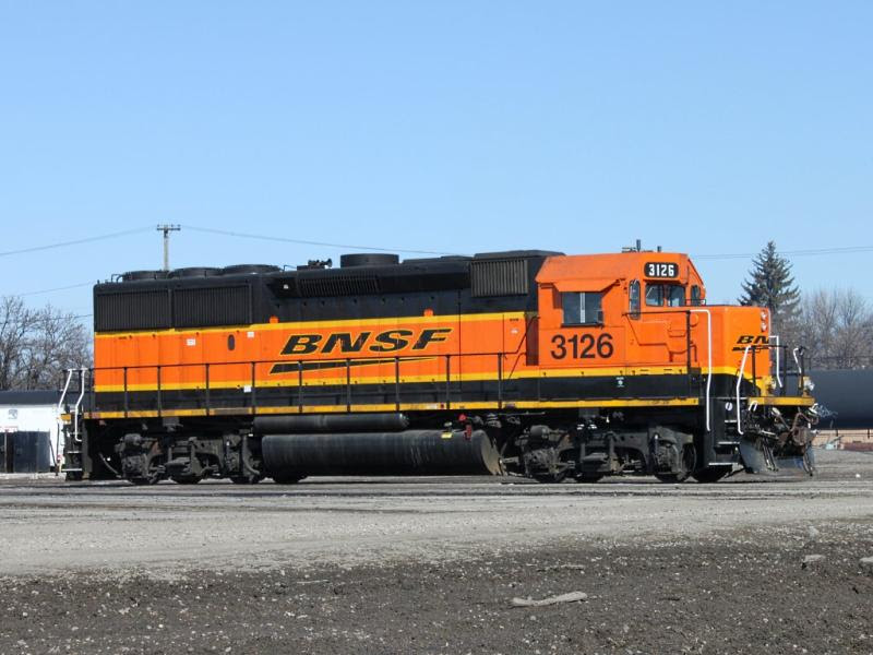 BNSF 3126 in Grand Forks