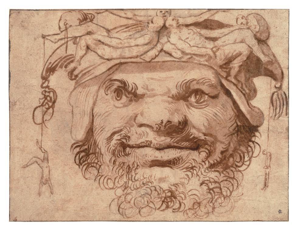 'Cabeza grotesca'.