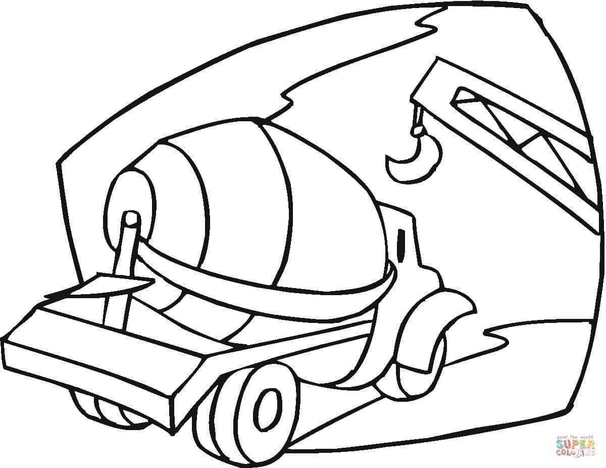 Dibujos De Camiones Para Colorear Páginas Para Imprimir Y Colorear