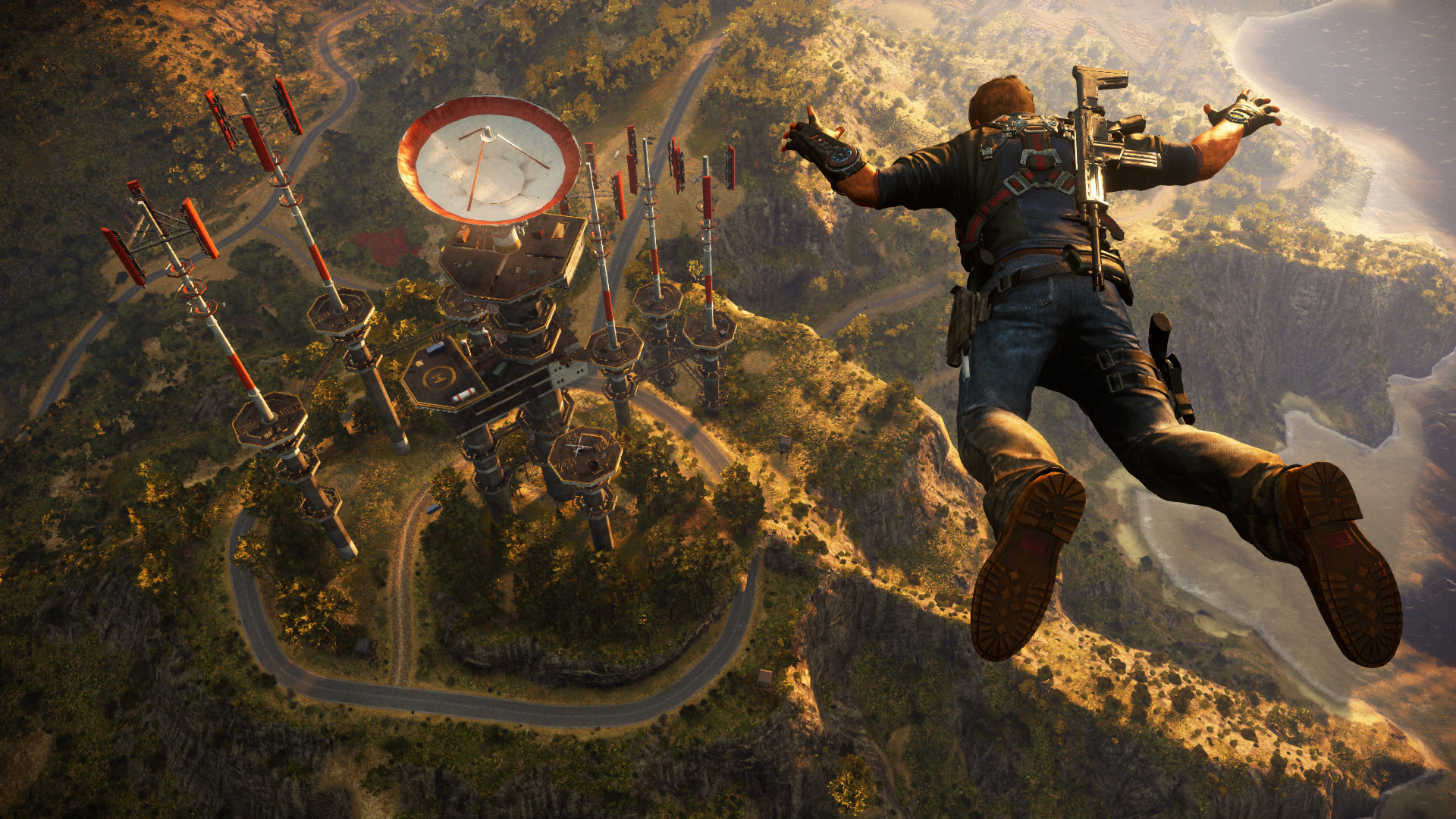 The Just Cause 3 multiplayer mod will get an official release next week screenshot