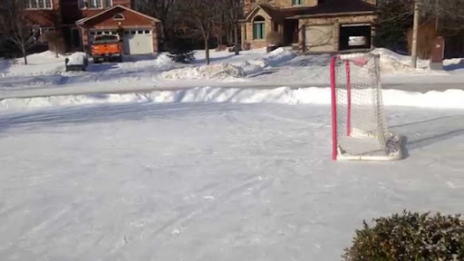How To Make A Backyard Ice Rink Without A Tarp
