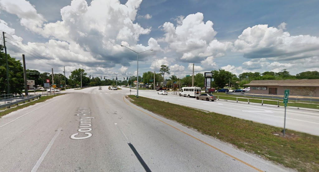 The entire sighting lasted approximately 10 seconds. Pictured: Palm Harbor, FL. (Credit: Google)