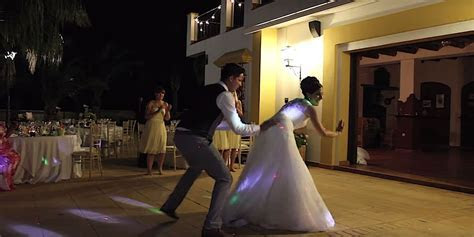 This British Couple Performed The Best Wedding Dance Ever