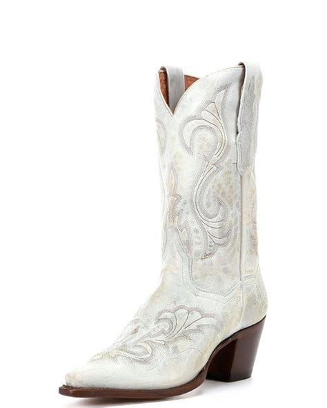 post womens el paso boots white cowboy boots
