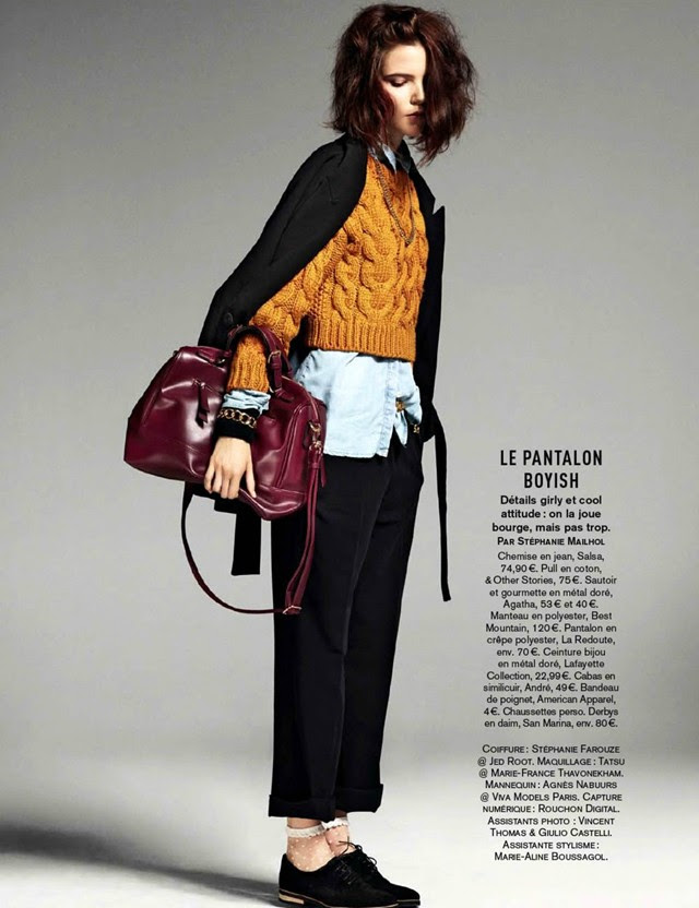 Agnes nabuurs by jason kim for glamour france december 2013 editorial inspiration fashion blogger turn it inside out belgium monki desigual asos dkny american vintage banana republic ice watch morgan topshop tamaris