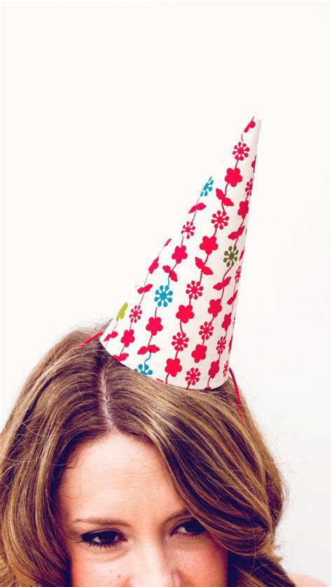 vintage fabric party hat ? A Subtle Revelry
