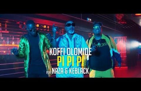 Download or Watch(Official Video) Koffi olomide ft Naza & Keblack – Pi pi pi
