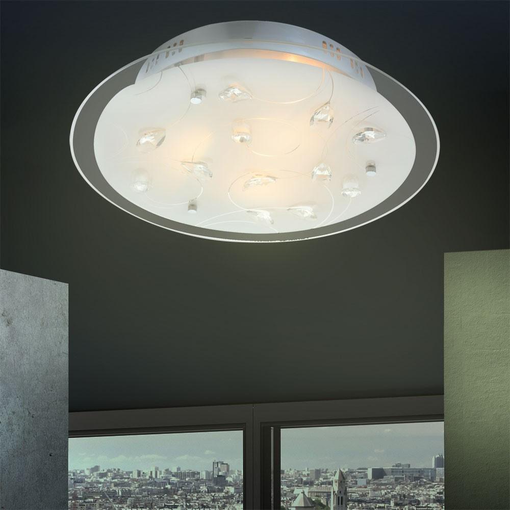 flur kristall beleuchtung deckenlampe zimmer bad lampe