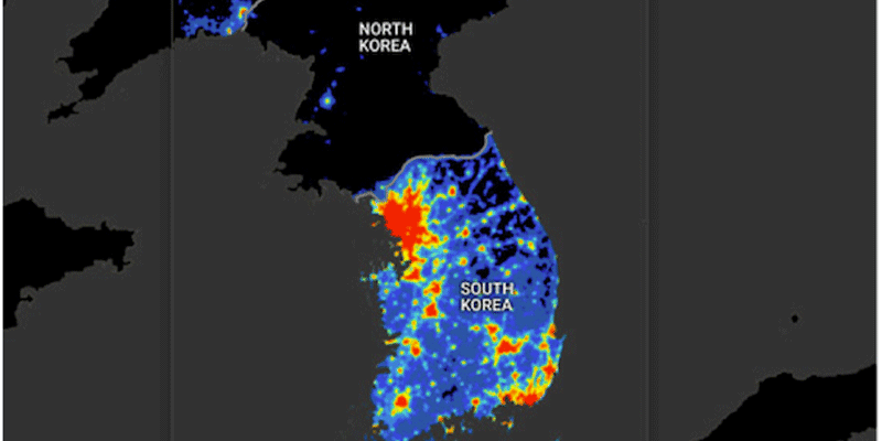 3 Maps That Explain North Koreas Strategy Business Insider