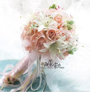 silk flowers wedding bouquets