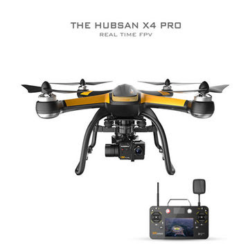 Hubsan X4 Pro H109S 5.8G FPV a 3 assi Gimbal GPS RC Quadcopter
