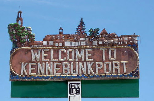 Kennebunkport Town Sign